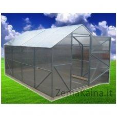 Surenkamas polikarbonatinis šlaitinis  Šiltnamis CLASSIC 2.5X6 m 4 mm