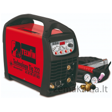 Suvirinimo įrenginys TELWIN TECHNOLOGY T.222 AC/DC HF/LIFT 230V+ACC