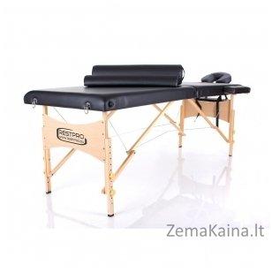 Sulankstomas masažo stalas Restpro Classic 2/Black SET
