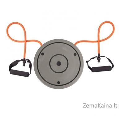 Sukimosi diskas su skaičiuokliu ir rankenomis inSPORTline Twist Digital 4