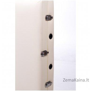 Sulankstomas masažo stalas Restpro Alu L3/Cream + DOVANA pusinė pagalvėlė 7