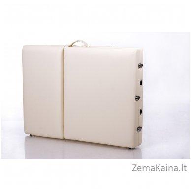 Sulankstomas masažo stalas Restpro Alu L3/Cream + DOVANA pusinė pagalvėlė 9