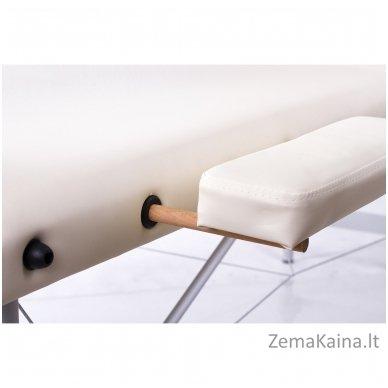Sulankstomas masažo stalas Restpro Alu L3/Cream + DOVANA pusinė pagalvėlė 4