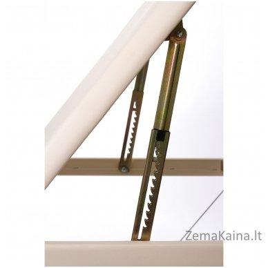 Sulankstomas masažo stalas Restpro Alu L3/Cream + DOVANA pusinė pagalvėlė 5