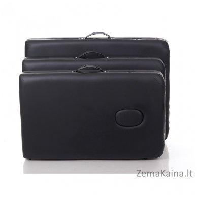 Sulankstomas masažo stalas Restpro Alu M2/Black + DOVANA pusinė pagalvėlė 4