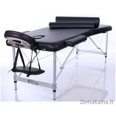 Sulankstomas masažo stalas Restpro Alu S2/Black SET