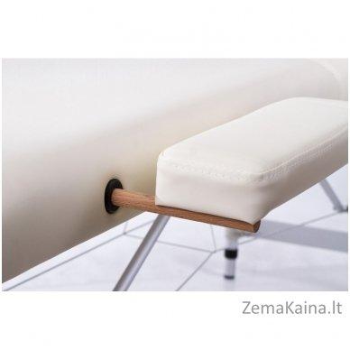 Sulankstomas masažo stalas Restpro Alu S2/Cream + DOVANA pusinė pagalvėlė 3