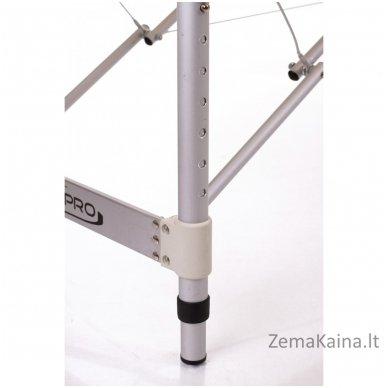 Sulankstomas masažo stalas Restpro Alu S2/Cream + DOVANA pusinė pagalvėlė 6