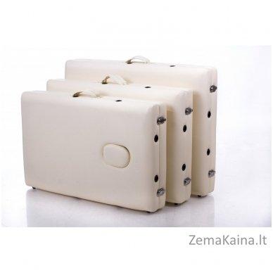 Sulankstomas masažo stalas Restpro Alu S2/Cream + DOVANA pusinė pagalvėlė 10