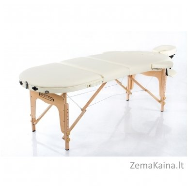 Sulankstomas masažo stalas Restpro Classic Oval 3/Cream 3