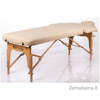 Sulankstomas masažo stalas Restpro Memory 2/Beige 2