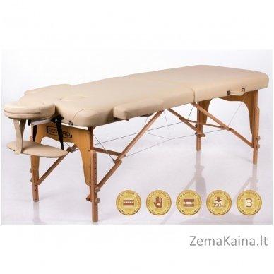 Sulankstomas masažo stalas Restpro Memory 2/Beige