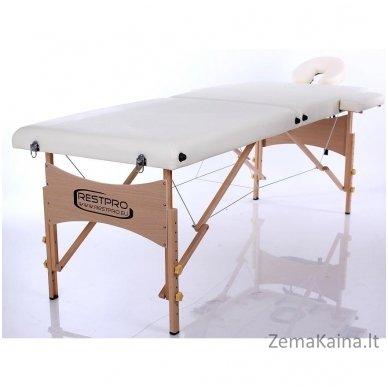 Sulankstomas masažo stalas Restpro Classic 2/Cream