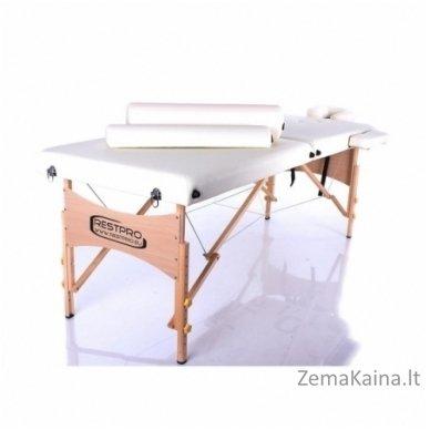 Sulankstomas masažo stalas Restpro Classic 2/Cream SET