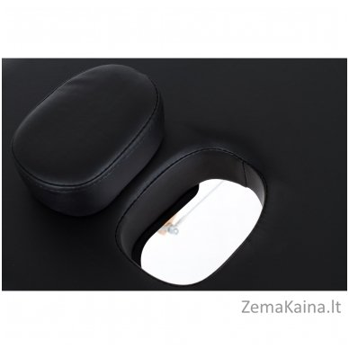 Sulankstomas masažo stalas Restpro Vip 2/Black + DOVANA medvilninis užtiesalas 4
