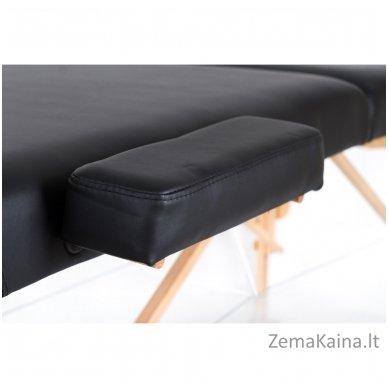 Sulankstomas masažo stalas Restpro Vip 2/Black + DOVANA medvilninis užtiesalas 5