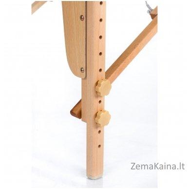 Sulankstomas masažo stalas Restpro Vip 2/Black + DOVANA medvilninis užtiesalas 8