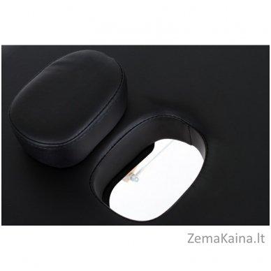 Sulankstomas masažo stalas Restpro Vip 2/Black SET + DOVANA 10 vnt vienkartinių neperšlampamų stalo užtiesalų 10