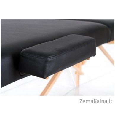 Sulankstomas masažo stalas Restpro Vip 2/Black SET + DOVANA 10 vnt vienkartinių neperšlampamų stalo užtiesalų 9