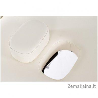 Sulankstomas masažo stalas Restpro Vip 2/Cream SET + DOVANA 10 vnt vienkartinių neperšlampamų stalo užtiesalų 7