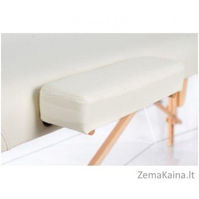Sulankstomas masažo stalas Restpro Vip 2/Cream SET + DOVANA 10 vnt vienkartinių neperšlampamų stalo užtiesalų 8