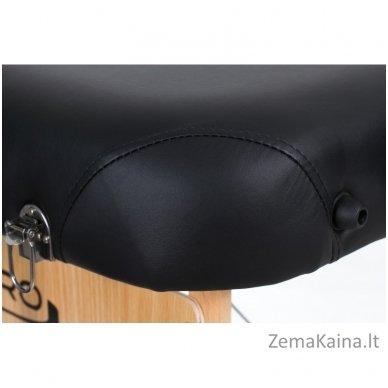 Sulankstomas masažo stalas Restpro Vip 3/Black + DOVANA medvilninis užtiesalas 7