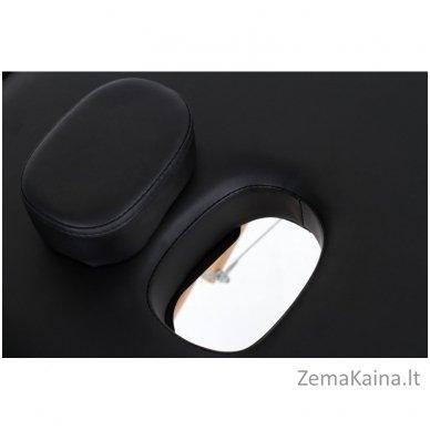 Sulankstomas masažo stalas Restpro Vip 3/Black + DOVANA medvilninis užtiesalas 5