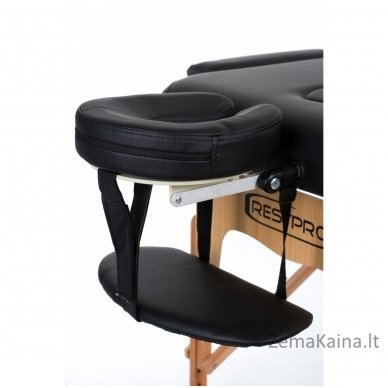 Sulankstomas masažo stalas Restpro Vip 3/Black + DOVANA medvilninis užtiesalas 3