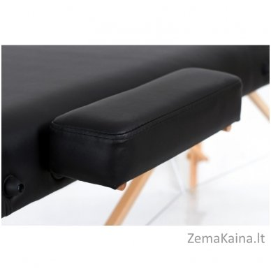 Sulankstomas masažo stalas Restpro Vip 3/Black + DOVANA medvilninis užtiesalas 4