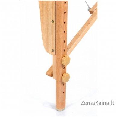 Sulankstomas masažo stalas Restpro Vip 3/Black + DOVANA medvilninis užtiesalas 8