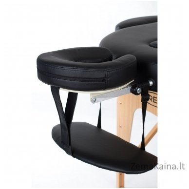 Masažo stalas Restpro Vip Oval 2/Black + DOVANA medvilninis užtiesalas 3