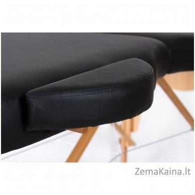 Masažo stalas Restpro Vip Oval 2/Black + DOVANA medvilninis užtiesalas 6