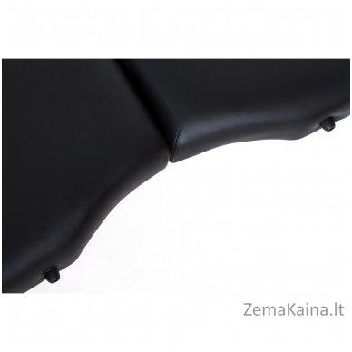 Sulankstomas masažo stalas Restpro Vip Oval 3/Black + DOVANA medvilninis užtiesalas 9