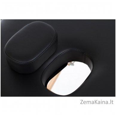 Sulankstomas masažo stalas Restpro Vip Oval 3/Black + DOVANA medvilninis užtiesalas 5