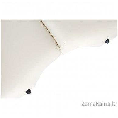Sulankstomas masažo stalas Restpro Vip Oval 3/Cream + DOVANA medvilninis užtiesalas 9