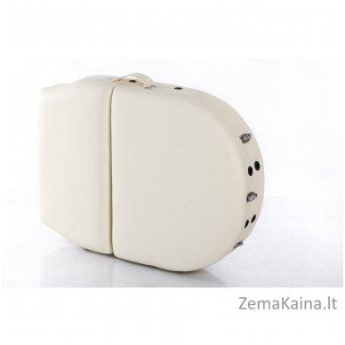 Sulankstomas masažo stalas Restpro Vip Oval 3/Cream + DOVANA medvilninis užtiesalas 12