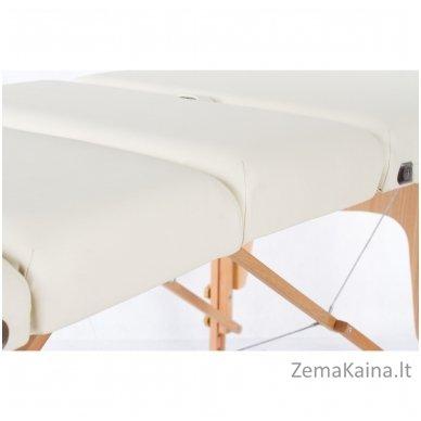 Sulankstomas masažo stalas Vip 4/ Cream 8