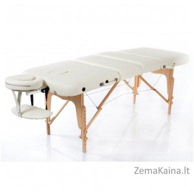 Sulankstomas masažo stalas Vip 4/ Cream 2