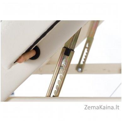 Sulankstomas masažo stalas Vip 4/ Cream 6