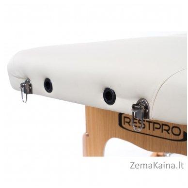 Sulankstomas masažo stalas Vip 4/ Cream 7