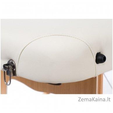 Sulankstomas masažo stalas Vip 4/ Cream 9