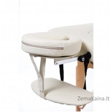 Sulankstomas masažo stalas Vip 4/ Cream 3