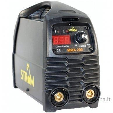 Suvirinimo inverteris STROM MMA-200 IGBT (STMMA-200)