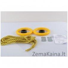 Švediškų kopėtėlių gimnastikos žiedai