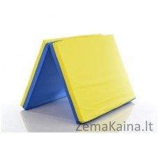 Švediškų kopėtėlių saugumo kilimėlis 80x120 cm Blue-Yellow