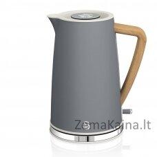 Swan SK14610GRYN elektrinis virdulys 1,7 L Pilka