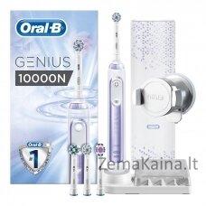 Dantų šepetėlis  BRAUN Oral-B Genius 10000N purple