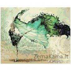 Tapymas pagal skaičius: Baleto šokėja (50x40cm)