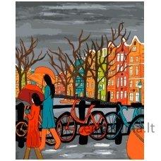 Tapymas pagal skaičius: Amsterdamas (50x40cm T50400019)