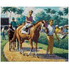 Tapymas pagal skaičius: Before the race - Arthur Sarnoff  (40x50 cm T40500106)